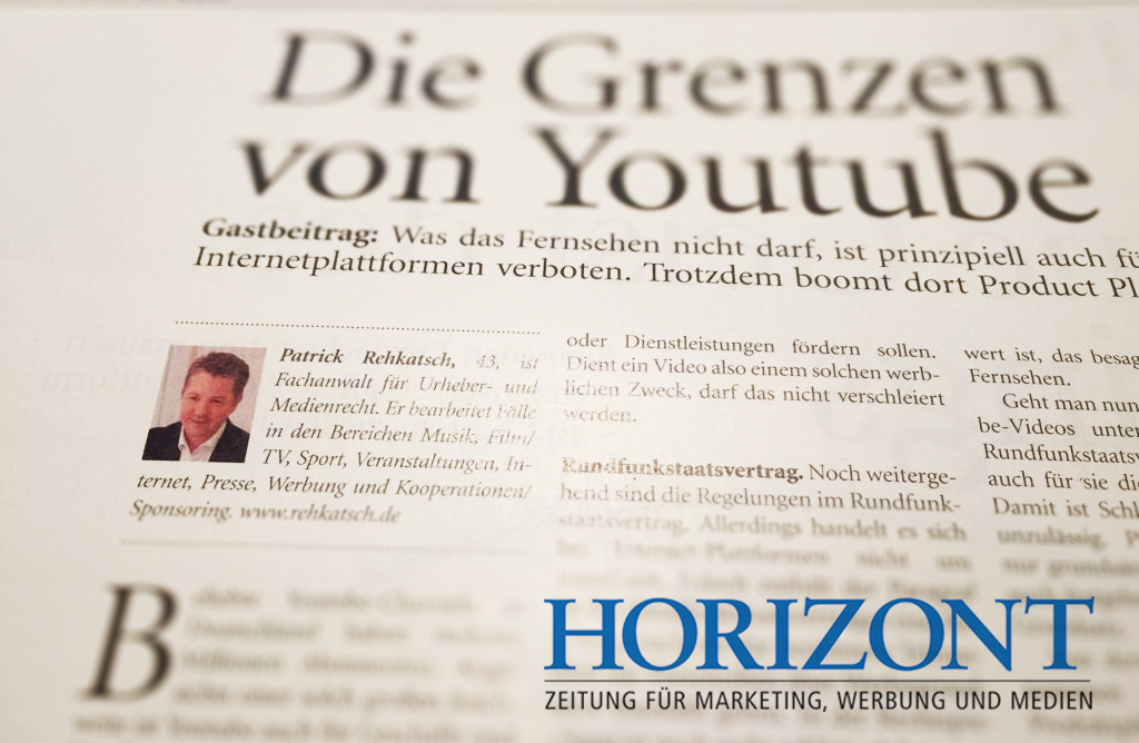 Horizont Artikel Product Placement